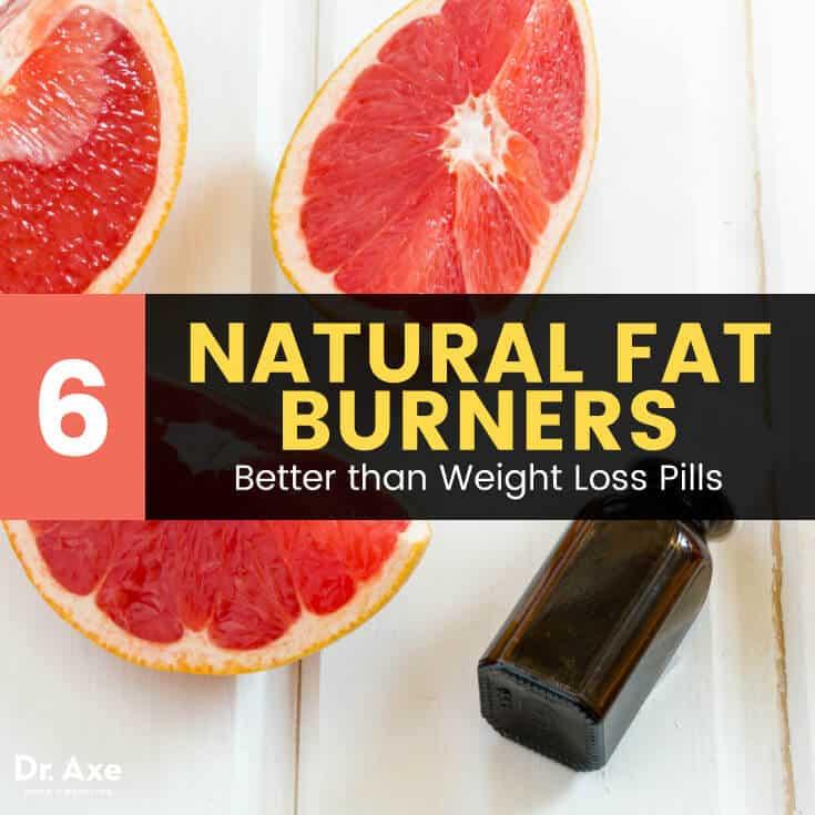 6 Natural Fat Burners: