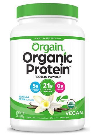 Organic Organic Plant-Based Protein Powder, Vanilla Bean